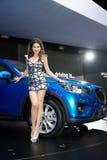 Mazda CX-5 Skyactiv on display Royalty Free Stock Photo