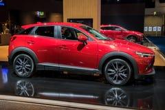 2017 Mazda CX-3 auto Stock Afbeelding
