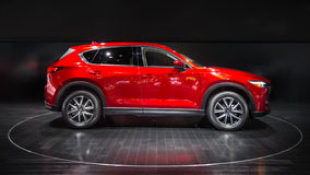 2017 Mazda CX-5 Royalty Free Stock Photography