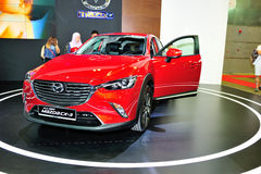 Mazda CX-3 display during the Singapore Motorshow 2016 Royalty Free Stock Image