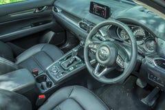Mazda CX-5 het Binnenland van 2017 Royalty-vrije Stock Afbeelding