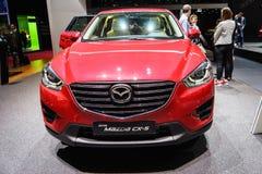 Mazda CX-5, motorisk show Geneve 2015 Royaltyfri Foto