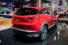 2017 Mazda CX-3 samochód Obraz Royalty Free