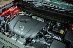 Mazda CX-5 2017 silnik Obrazy Stock