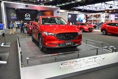 Mazda CX-5 Skyactiv technologii samochód przy Tajlandia zawody międzynarodowi silnika expo Obraz Stock