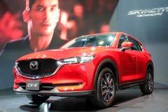 Mazda CX-5 su esposizione alla trentaquattresima Expo internazionale 2017 del motore della Tailandia Immagini Stock