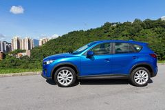Mazda CX-5 SUV 2012 Royaltyfri Bild