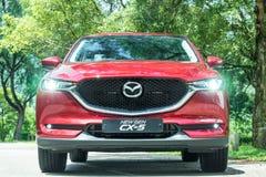 Mazda CX-5 2017 testa Prowadnikowy dzień Zdjęcie Stock
