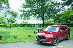 Mazda CX-5 2017 testa Prowadnikowy dzień Obrazy Stock