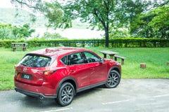 Mazda CX-5 2017 testa Prowadnikowy dzień Obrazy Royalty Free