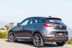 Mazda CX-3 2017 testa Prowadnikowy dzień Obrazy Stock