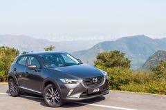 Mazda CX-3 2017 testa Prowadnikowy dzień Obrazy Royalty Free