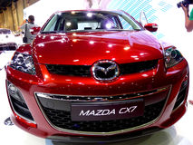 Mazda CX7 Front End Royalty Free Stock Image