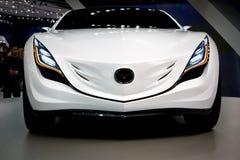 Mazda an der Moskau-Ausstellung Motorshow 2008 Lizenzfreie Stockbilder