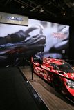 Mazda display and prototype race car Stock Photo