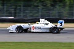Mazda drev racerbilen Arkivbilder