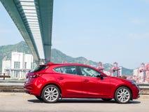 Mazda3 2016 Drive Day Royalty Free Stock Image