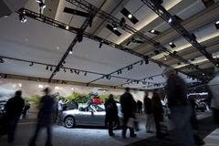 Mazda exhibit at 2010 Autoshow Stock Image