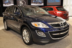 Mazda Exhibit Royalty Free Stock Photos
