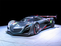 Mazda Furai Concept Sports Car Isolated Stock Images
