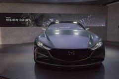Mazda-het concept van de Visiecoupé op vertoning tijdens La Auto toont Stock Afbeelding