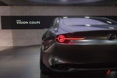 Mazda-het concept van de Visiecoupé op vertoning tijdens La Auto toont Royalty-vrije Stock Foto