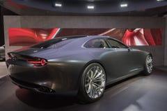 Mazda-het concept van de Visiecoupé op vertoning tijdens La Auto toont Stock Foto