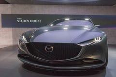 Mazda-het concept van de Visiecoupé op vertoning tijdens La Auto toont Royalty-vrije Stock Afbeeldingen