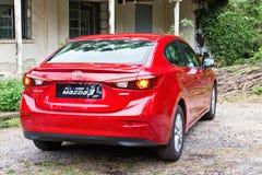 Mazda 6 het Model van 2014 Stock Afbeelding