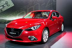 Mazda 3 on IAA 2013 Royalty Free Stock Image