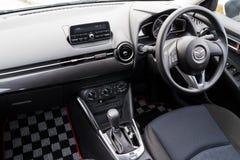 Mazda2 2015 interior Royalty Free Stock Photography