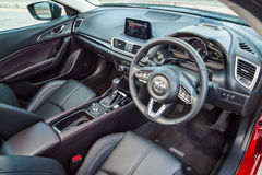 Mazda3 2016 Interior Stock Images