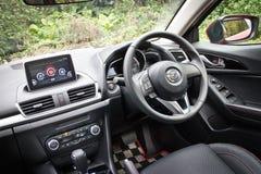 Mazda 6 2014 interior Stock Photos