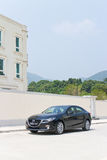 Mazda3 JDM Japan Version 2014 Test Drive Stock Image