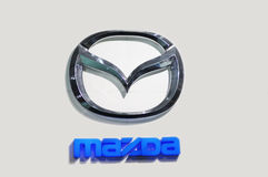 Mazda logo Royalty Free Stock Image