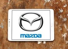 Mazda logo Arkivfoto