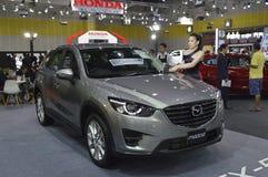 Mazda 3 miasta samochód Obrazy Stock
