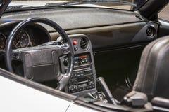 1990 Mazda Miata at CAS19 royalty free stock image