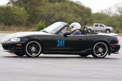 Mazda Miata chez Autocross photographie stock libre de droits