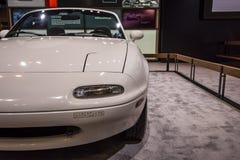 Mazda Miata 1990 en CAS19 imagen de archivo