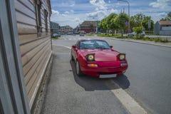 Mazda Miata mx-5 cabriolet 1991 Arkivbilder