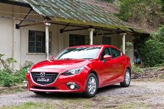 Mazda 6 2014 model Obraz Stock
