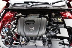 Mazda 6 2014 Model engine Stock Image