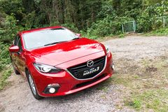 Mazda 6 2014 Model Royalty Free Stock Photo