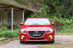 Mazda 6 2014 Model Royalty Free Stock Images