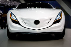 Mazda at Moscow exhibition Motorshow 2008 Royalty Free Stock Images