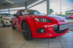 Mazda mx-5 fotografia stock