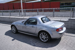 Mazda mx-5 Royalty-vrije Stock Foto's