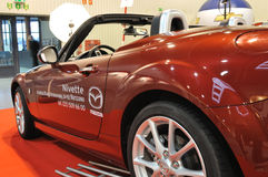 Mazda MX-5. Convertible roadster on display at the Auto Show Poland Stock Photography