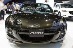 Mazda MX-5 bil på expo för Thailand Internationalmotor Arkivfoto